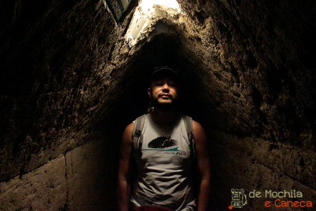 Grande Piramide de Cholula-túnel
