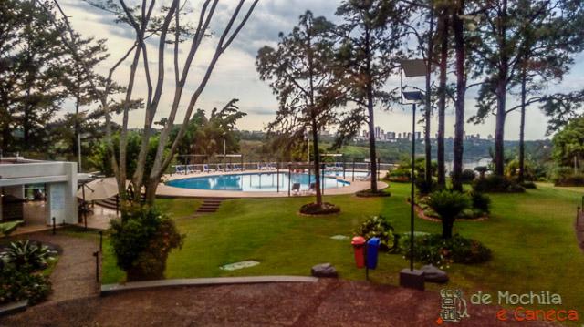 Hotel Acaray Ciudad del Este-Piscina.