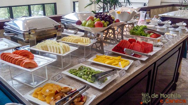 Hotel Acaray Ciudad del Este-Café da manhã