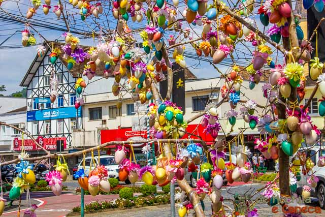 Osterfest de Pomerode-Osterbaum