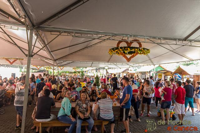 Osterfest de Pomerode-Pavilhão Gastronômico.