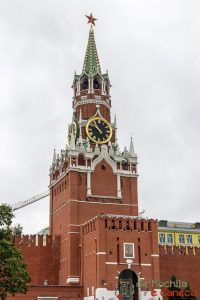 Praça Vermelh de Moscou- Torre do Salvador