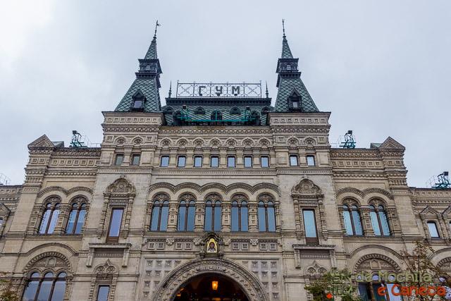 Praça Vermelha de Moscou - Shopping GUM