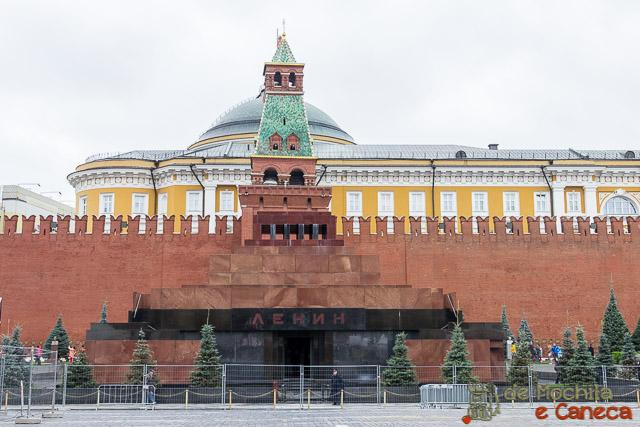 Praça Vermelha de Moscou - Mausoléu de Lenin