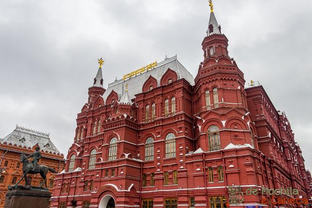Praça Vermelha de Moscou - Museu Estatal de História