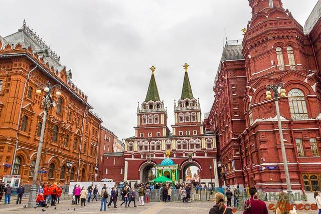Praça Vermelha de Moscou - Portão da Ressurreição