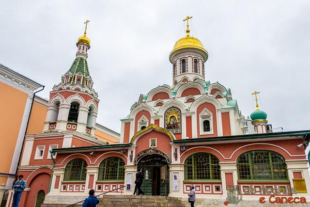 Praça Vermelha de Moscou - Catedral de Kazan