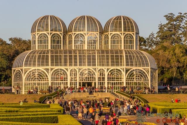 parques mais importantes de curitiba-Jardim Botânico de Curitiba