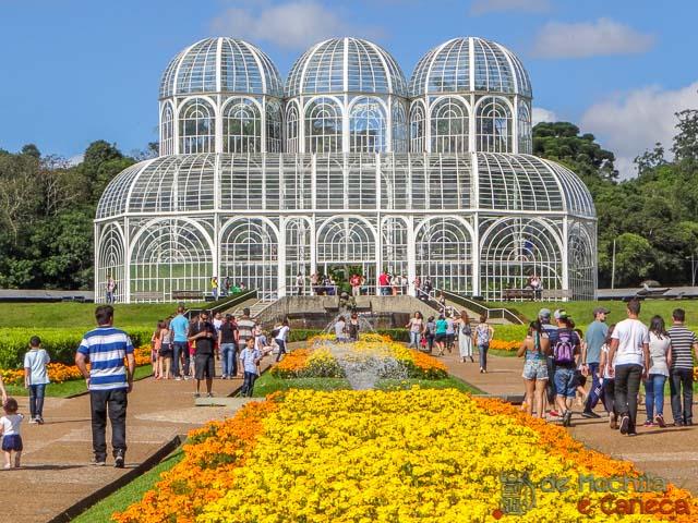Top 10 parques de Curitiba-Jardim Botânico.