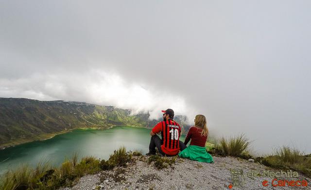Vulcão Quilotoa - Lagoa Quilotoa-visual.