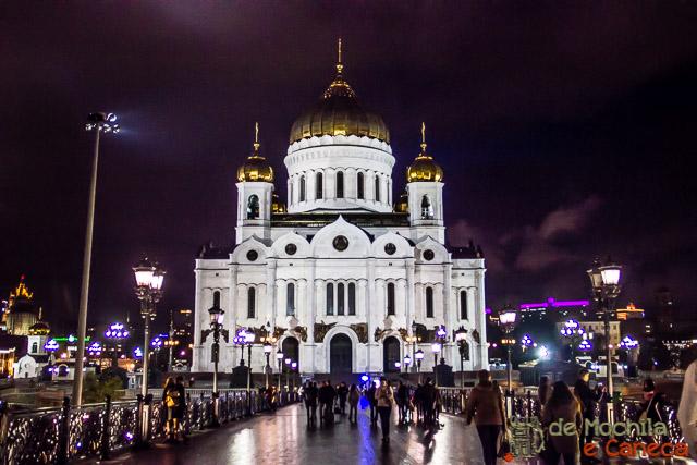 lugares imperdíveis para conhecer em Moscou -Catedral do Cristo Salvador