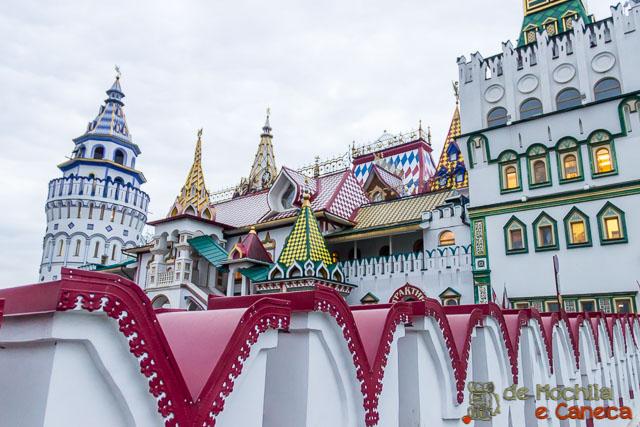10 lugares imperdíveis em moscou-Kremlin de Izmailovo
