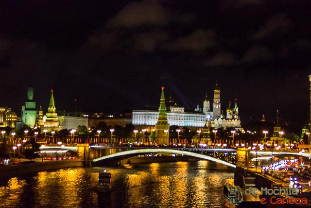 10 lugares imperdíveis em moscou- Rio Moscou.