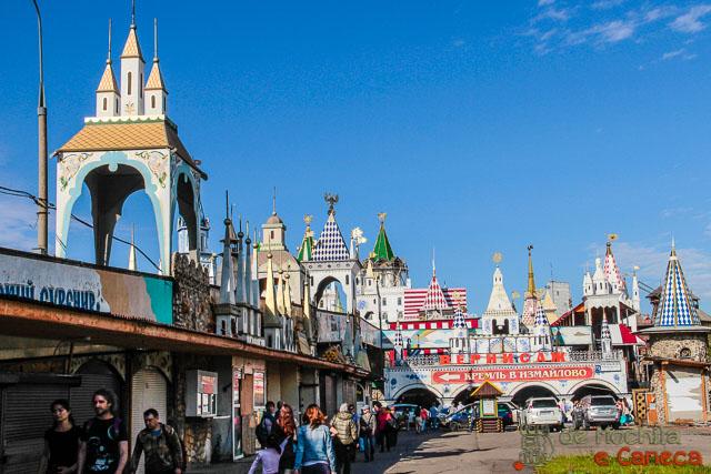10 lugares imperdíveis em moscou - Kremlin de Izmailovo