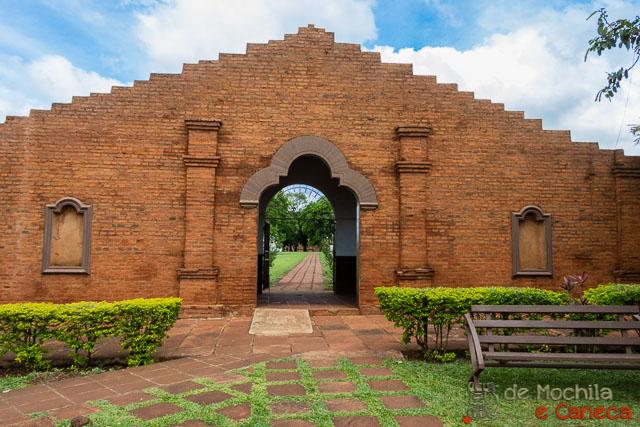 Missão Jesuitica Jesus de Tavarangue - Paraguay-