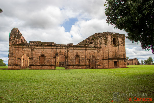 Missão Jesuitica Jesus de Tavarangue - Paraguay-Estilo Mourisco