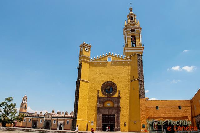 O que fazer em Cholula - Mexico-Convento Franciscano de San Gabriel Arcángel
