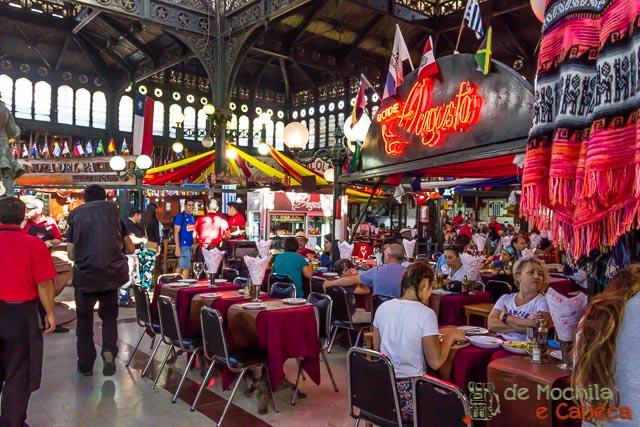 Roteiro de 11 dias no Chile-Mercado Central de Santiago.