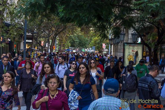Roteiro de 11 dias no Chile-Calles