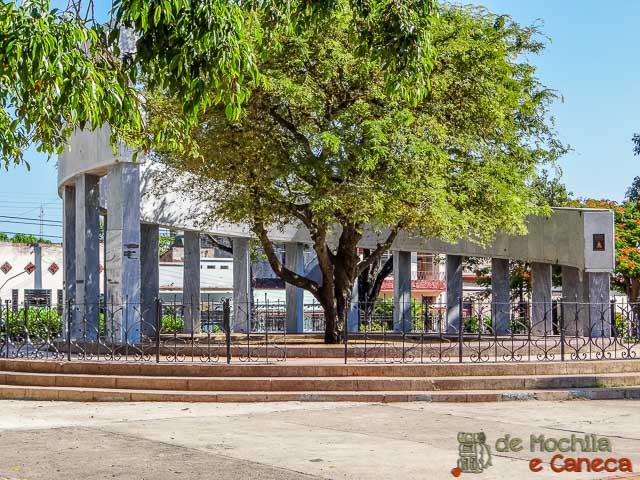 Santa Clara - Cuba-Parque el Carmem