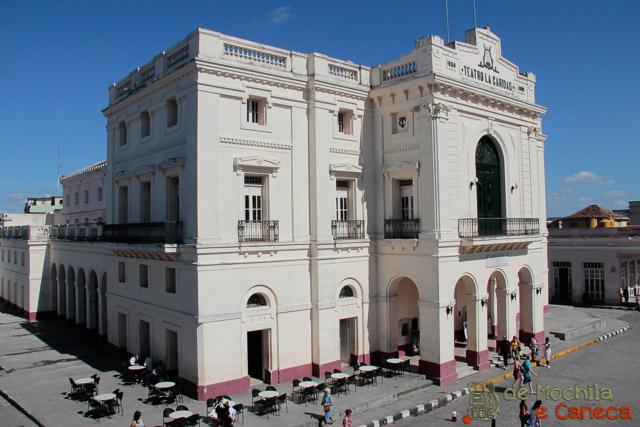 Santa Clara - Cuba-Teatro de la Caridad