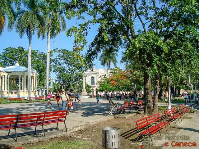Santa Clara - Cuba-Parque Vidal.