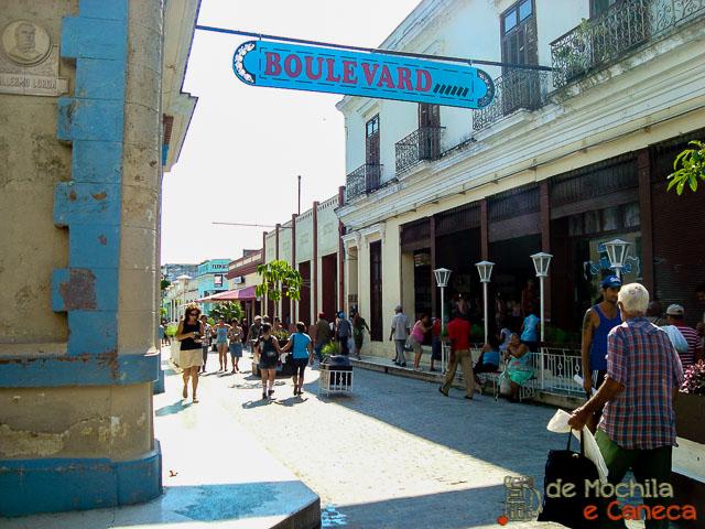 Santa Clara - Cuba-Boulevard de Santa Clara