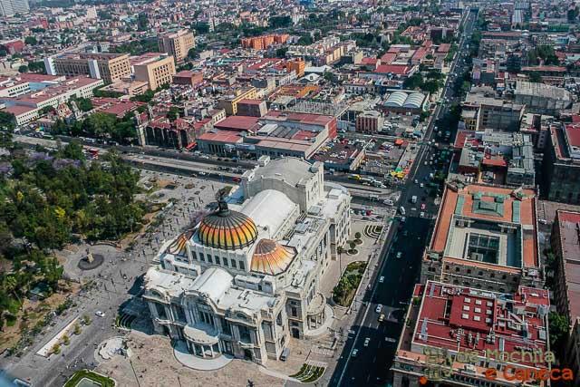 Torre Latino americana - Mexico-Palacio de Bellas Artes