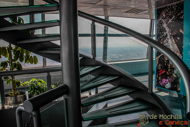Torre Latino americana - Mexico-escada mirante