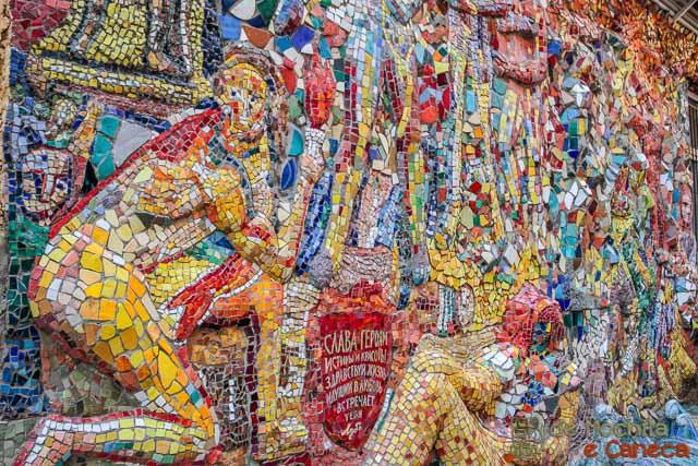 Pátio de Mosaicos - São Petersburgo.