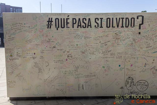 Museu da Memória e dos Direitos Humanos de Santiago.