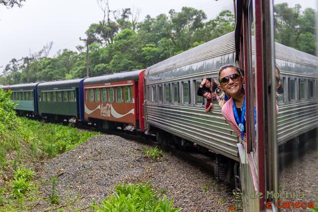 Trem Morretes - Curitiba - Serra Verde Express.