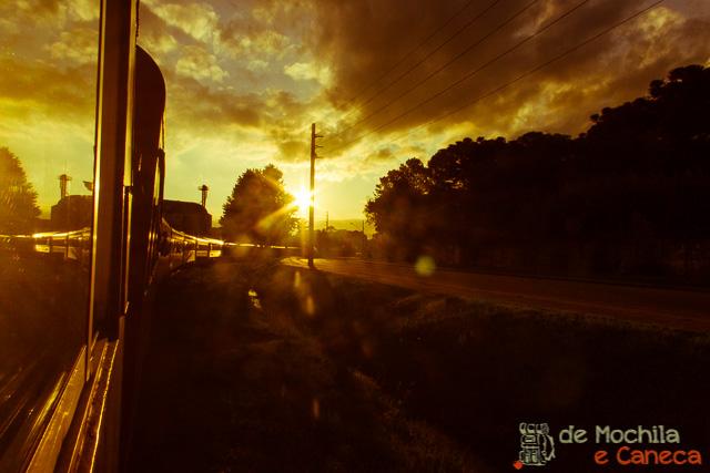 Trem Curitiba -Paranaguá