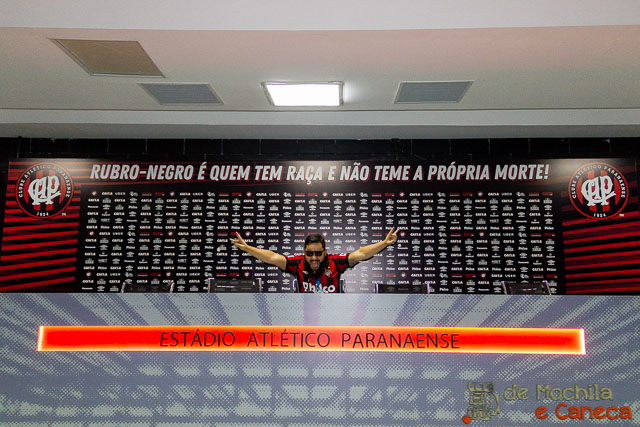 Estádio do Atletico - Arena da Baixada.