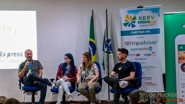 Blogueiros Youtubers em painel do ERBBV 2018.