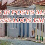 Os 10 posts mais acessados de 2018 no DMEC.