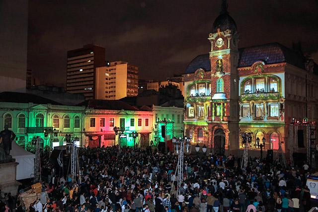Natal no Paço - Paço da Liberdade - Curitiba.