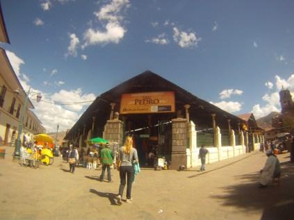 Entrada do Mercado Publico - San Pedro.