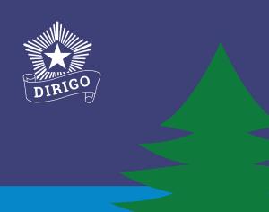 Maine's Bicentennial Flag