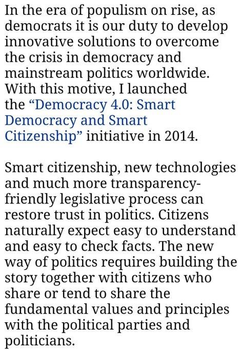 Why launched Democracy 40 Initiative