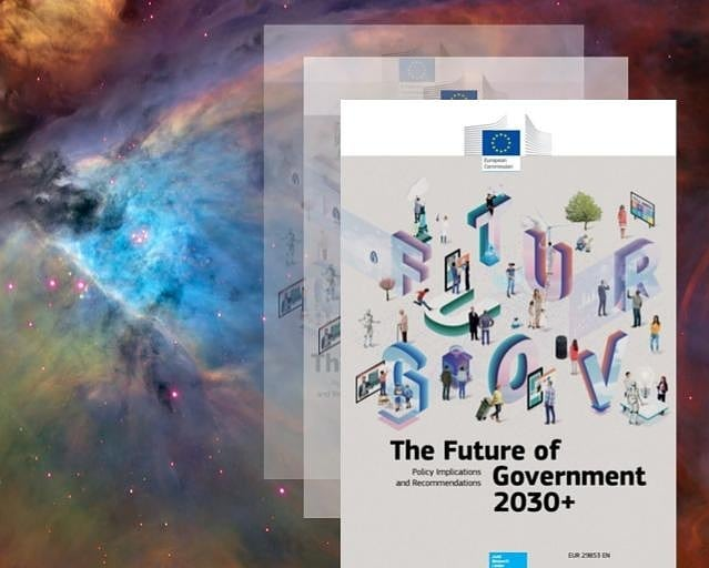 """2019/2020 Future of Government report is out!  Happy and humbled to contribute to this amazing European Commission report on Future of Government by giving an interview as an opinion leader."" Citizen K of Democracy 4.0  #futureofeurope  #futureofgovernment #europeancommission #EU #report #Democracy40 @democracy4.0 #democracy #follow #future #citizenship #citizens #eu4you #europe #smartcitizenship #influencer #euinfluencer #opinionleader #vr #tech4democracy #tech #ai #technology #govtech"