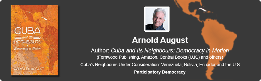 Image result for arnold august democracy in cuba