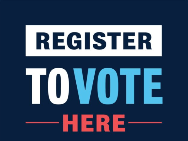 register to vote here posters