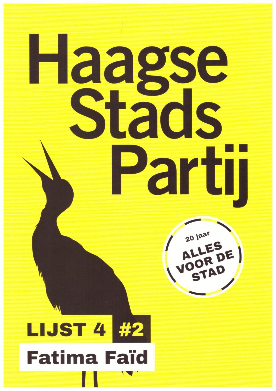 Haagse Stads Partij Leaflet 001
