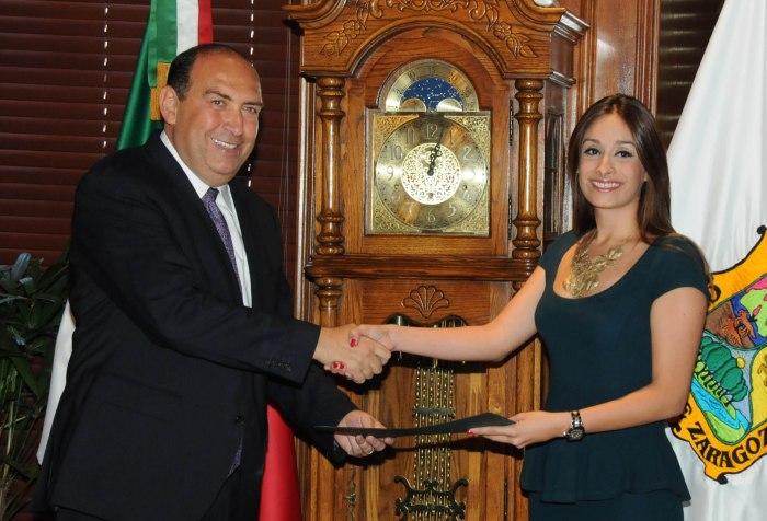 Entrega nombramiento Gobernador Rubén Moreira