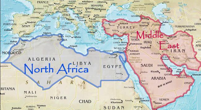 التغيرات السياسيه الاقليميه وانعكاسها على توازن القوى فى الشرق الاوسط 2003 – 2012