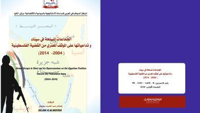 Photo of الجماعات المسلحة في سيناء و تداعياتها على الموقف المصري من القضية الفلسطينية 2004 – 2014