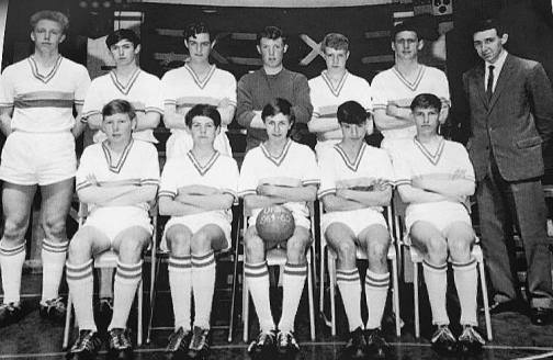 Academy intermediate football team.