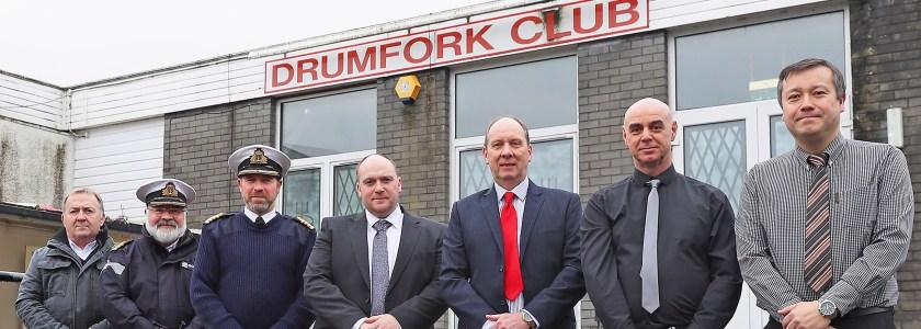 'Breaking Ground' Drumfork Club refurbishment