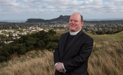 Moderator Designate of the Church of Scotland (2017) Rev Derek Browning of Morningside Parish Church, Edinburgh.